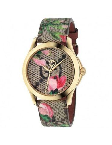 Reloj gucci mujer dorado precio