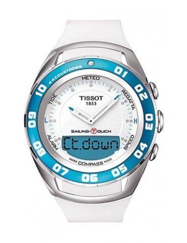 Reloj Tissot Acero Crono Táctil Mujer T0564201701600