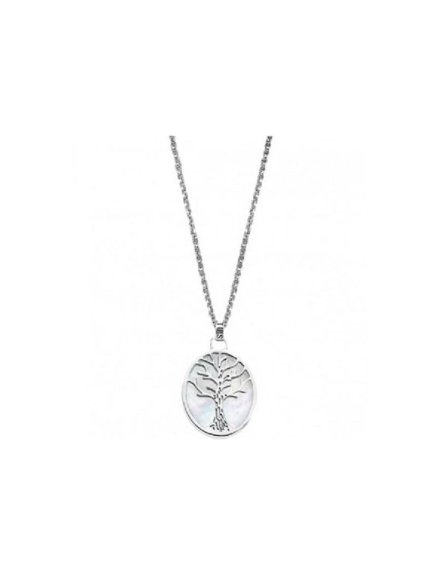 Collar Lotus Silver Plata Mujer LP1679-1/1