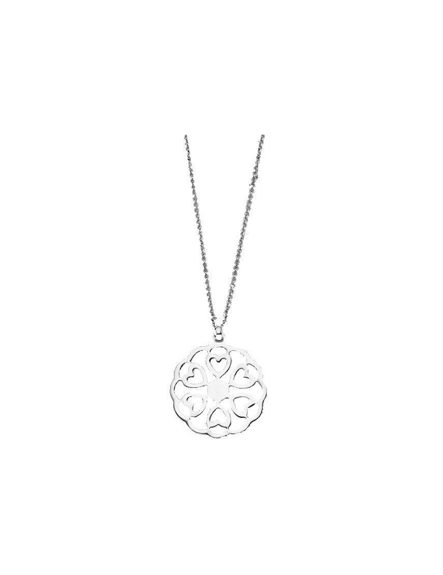 Collar Lotus Silver Plata Mujer LP1690-1/1