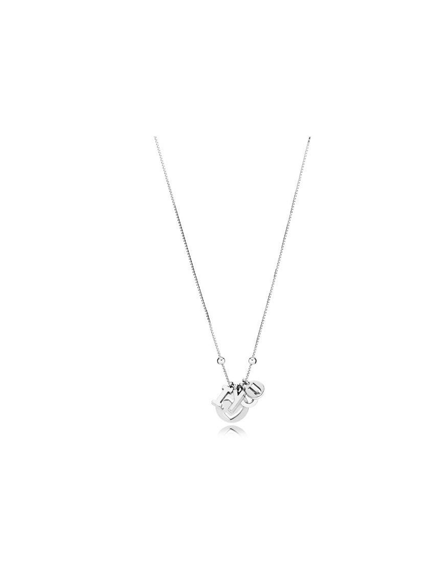 89ae1262f7a7 Collar Pandora Plata I love You 396580-60