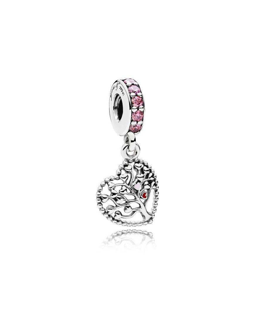 """Charm Pandora plata Colgante Árbol de la Vida"""" 796592CZSMX"""