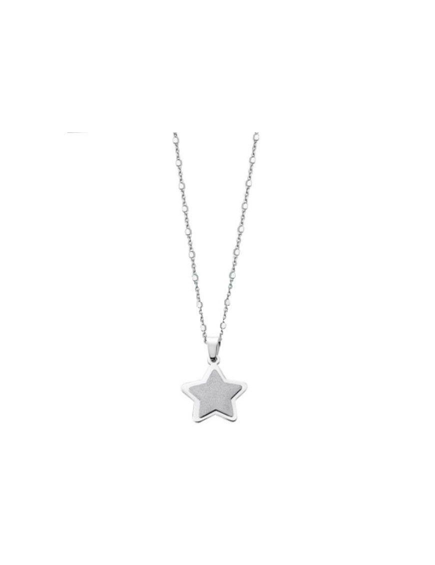 Collar Lotus Silver Mujer LP1741-1/1 Estrella