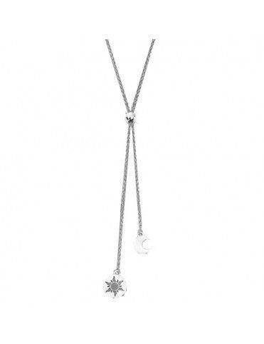 Collar Lotus Silver Mujer LP1751-1/1