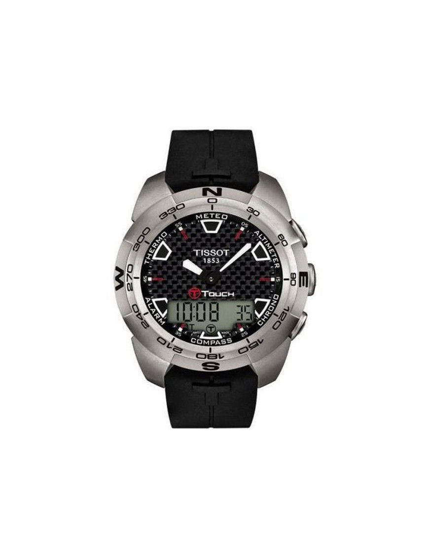 Reloj Tissot Acero Crono Táctil HombreT0134204720100