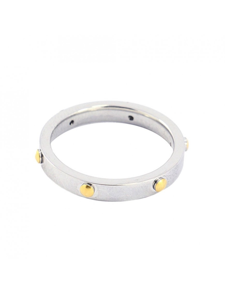Anillo Anartxy Acero Mujer AAN347PL