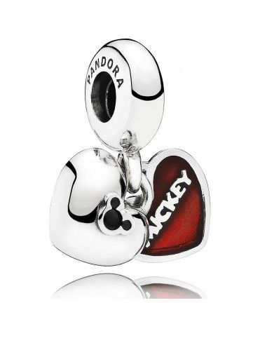 Charm Pandora Plata Colgante Mickey & Minnie 791441NCK