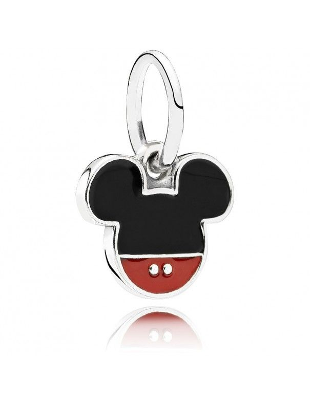 Charm Pandora Plata Colgante Mickey 791461ENMX