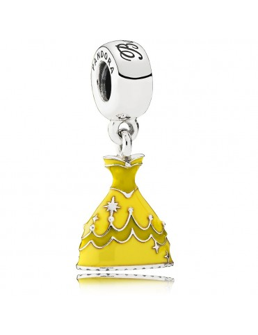 Charm Pandora Plata Colgante Vestido de Bella 791576ENMX