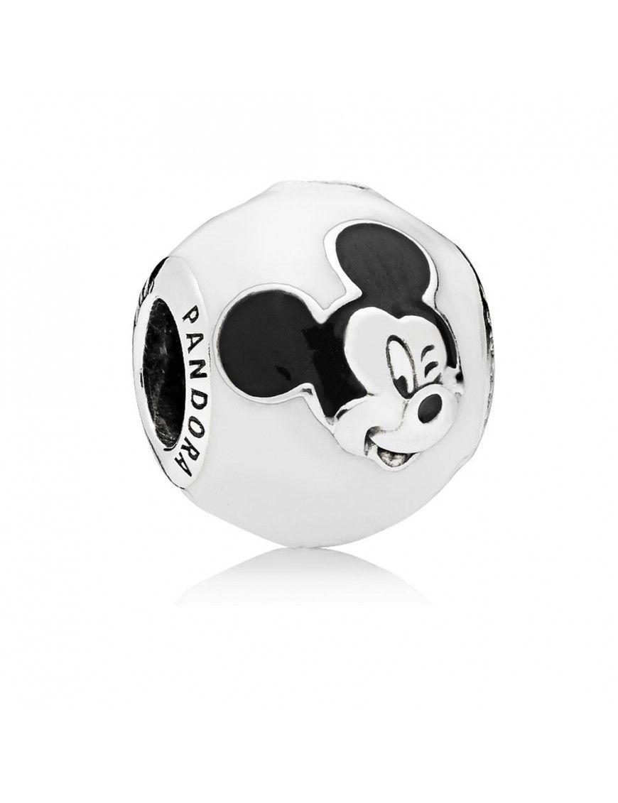 Charm Pandora Plata Mickey Expresivo 796339ENMX