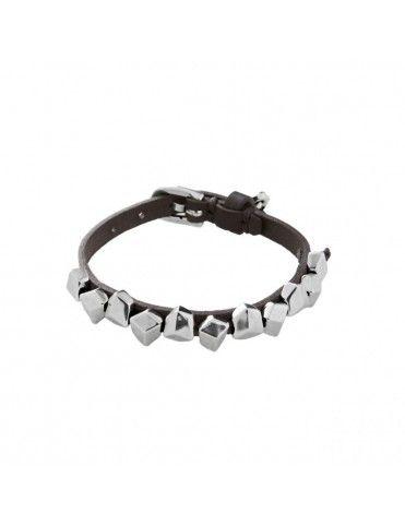 Comprar Pulsera Uno de 50 Metal Mujer Cubitos PUL1678NGRMTL0M online