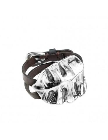 Comprar Pulsera Uno de 50 Metal Mujer Hoja PUL1681MARMTL0M online