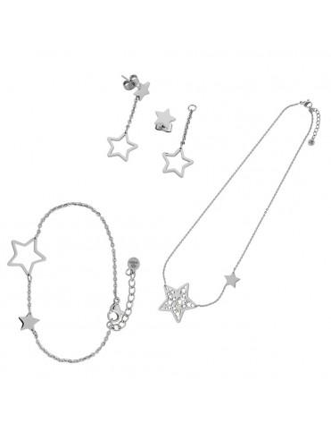 Comprar Conjunto Marea Mujer Acero D005KT/11 Estrella online