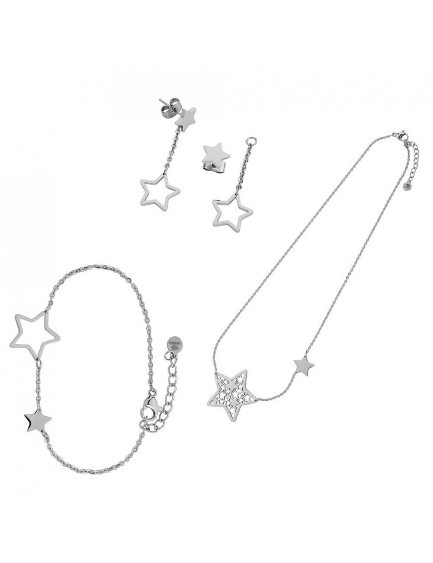 Conjunto Marea Mujer Acero D005KT/11 Estrella