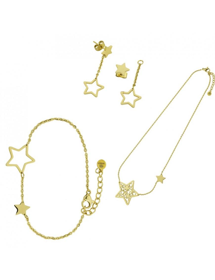 Conjunto Marea Mujer Acero D005KT/12 Estrella
