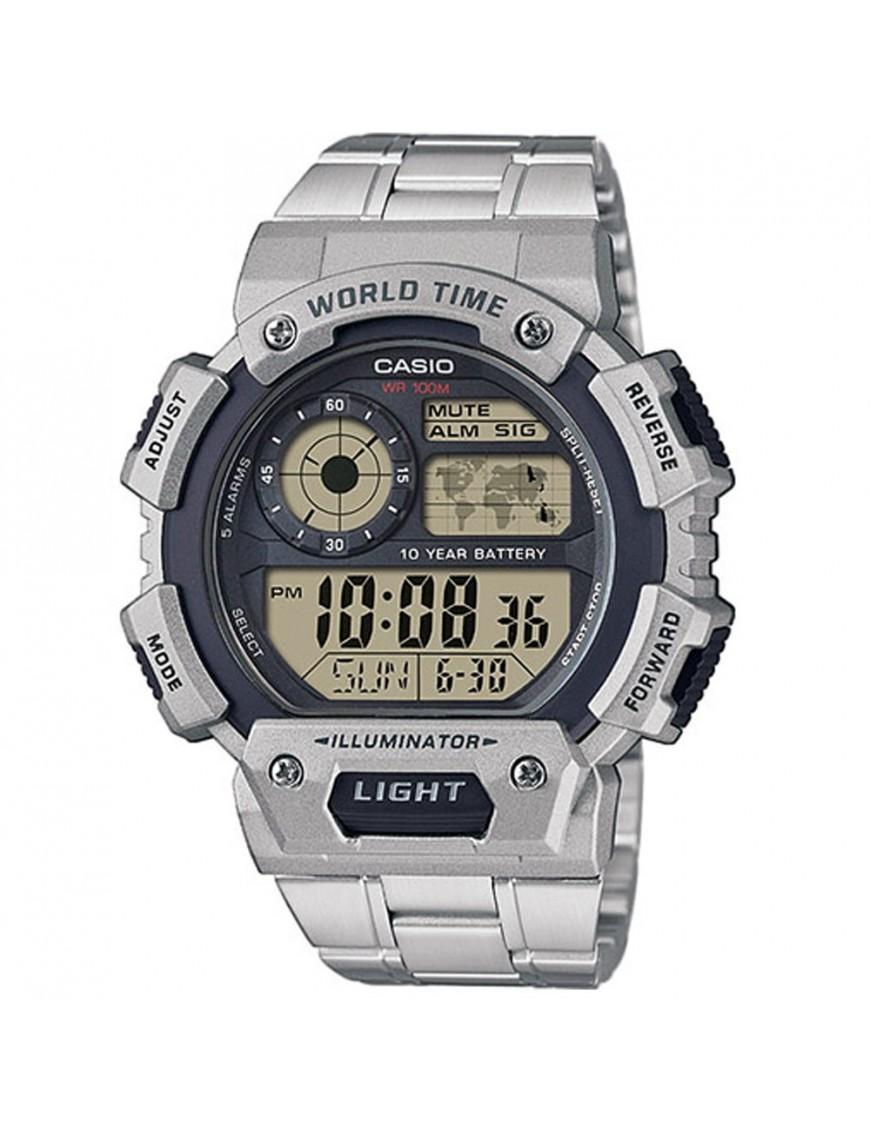 Reloj Casio cronógrafo hombre AE-1400WHD-1AVEF
