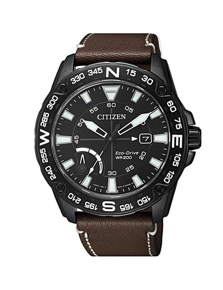 Reloj Citizen Eco-Drive Ring Solar Hombre AW7045-09E