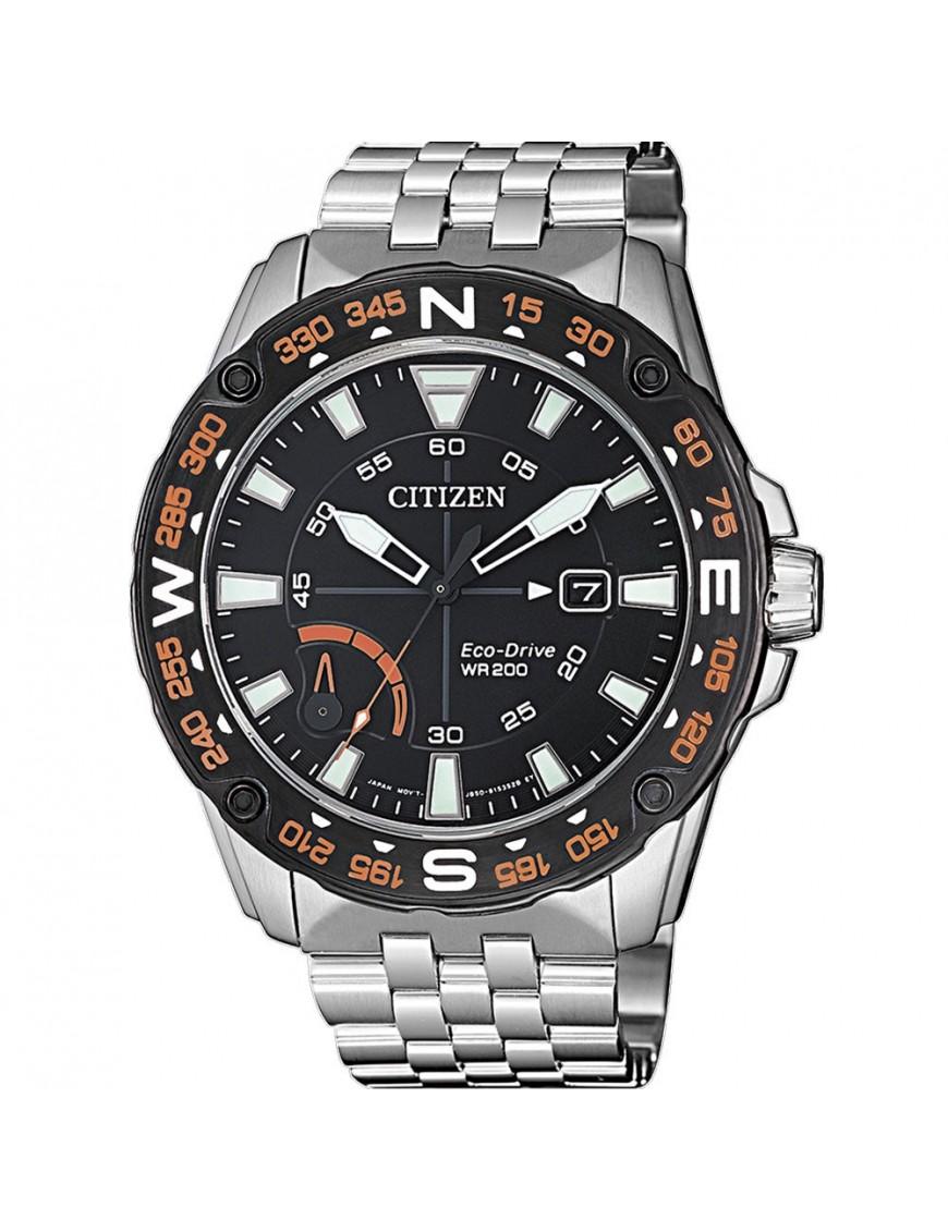 Reloj Citizen Eco-Drive Ring Solar Hombre AW7048-51E