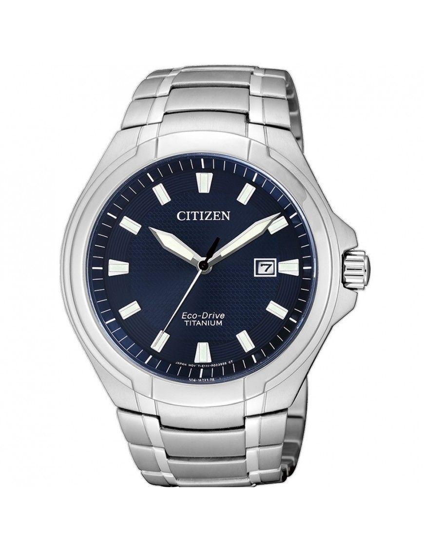 Reloj Citizen Eco-Drive Super Titanium Hombre BM7430-89L