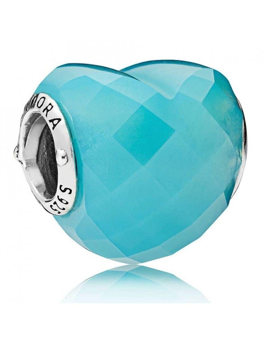 Charm Pandora Plata Amor Azul 796563NSC