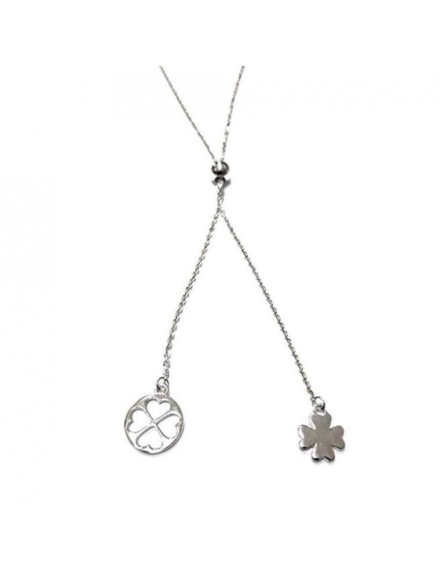 Collar Lotus Silver Mujer LP1753-1/1