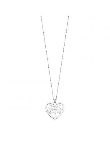 Collar Lotus Silver Mujer LP1769-1/1
