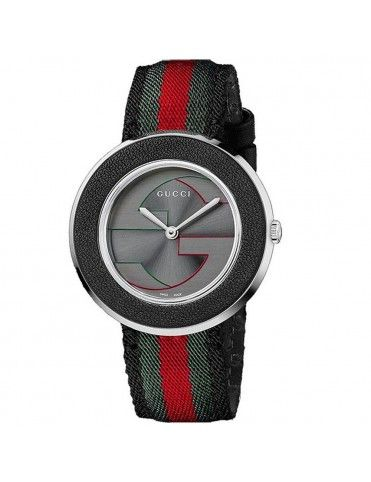 Reloj Gucci Mujer U-Play MD Grey&Steel YA129444