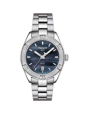 Reloj Tissot Mujer PR 100 Sport Chic T101.910.11.121.00