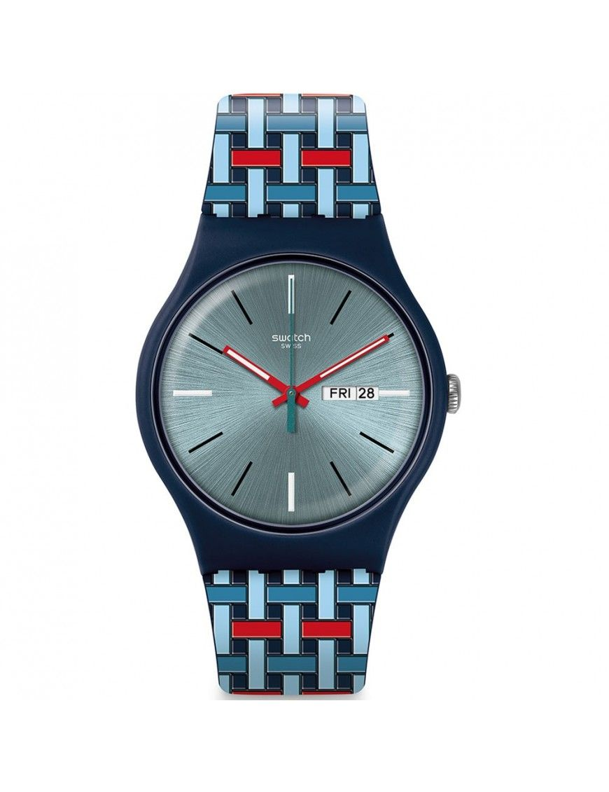 Reloj Swatch Unisex SUOG709 Wovering