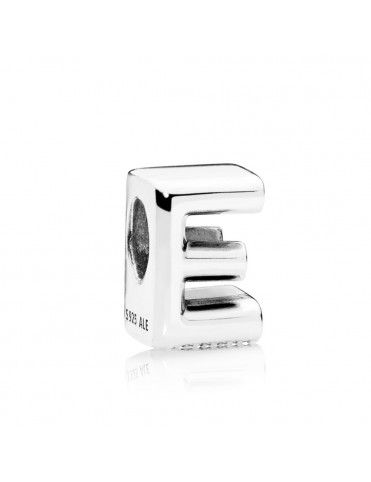Comprar Charm Pandora Plata Letra E 797459 online