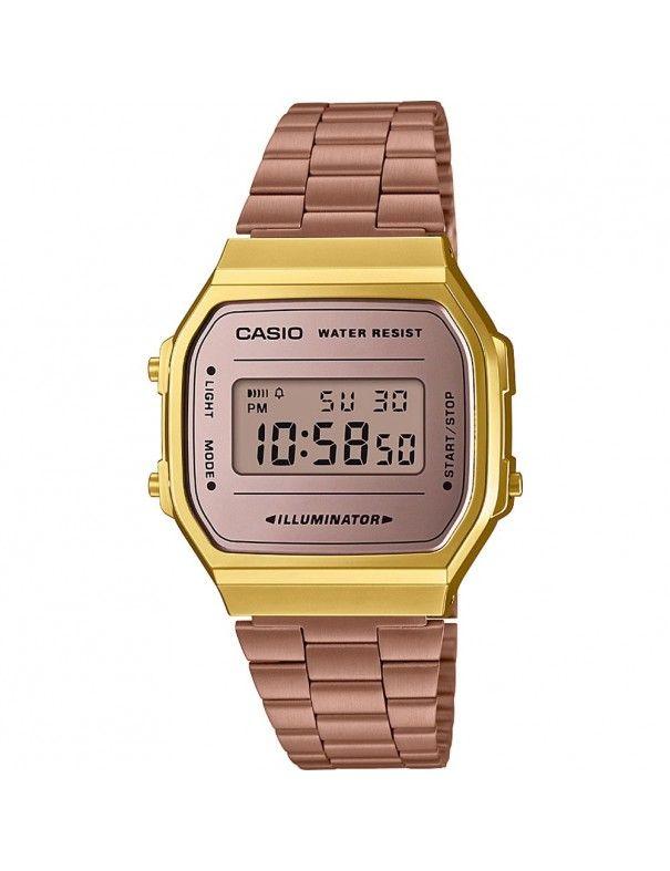 Reloj Casio Unisex A168WECM-5EF Retro Mirror