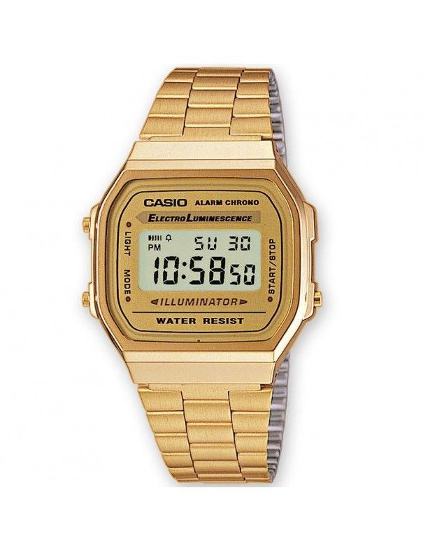 Reloj Casio Unisex A168WEGM-9EF Retro Mirror