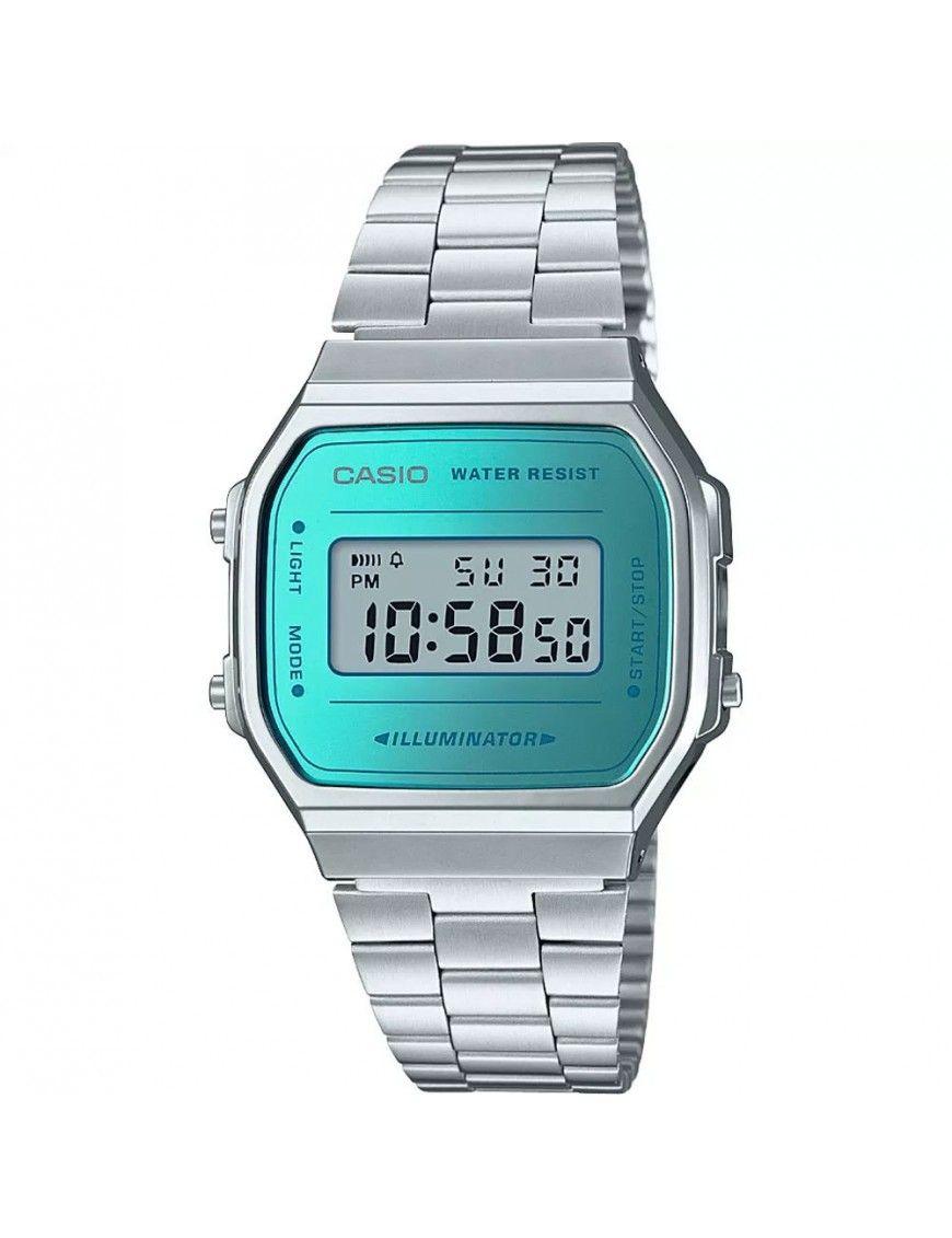 Reloj Casio Unisex A168WEM-2EF Retro Mirror