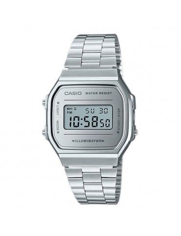 Reloj Casio Unisex A168WEM-7EF Retro Mirror