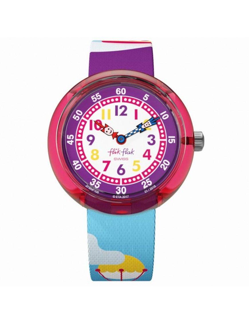 Reloj Flik Flak SHIP AHOJ FBNP105