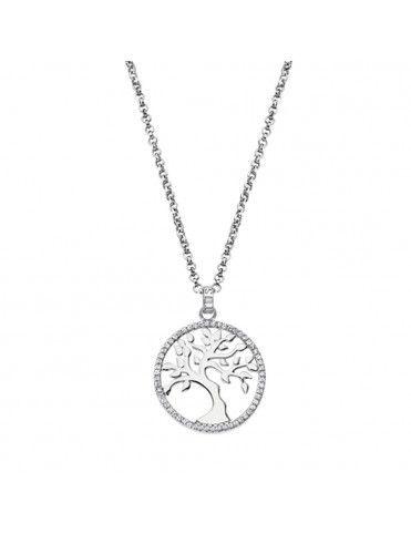 Collar Lotus Silver Mujer LP1778-1/1