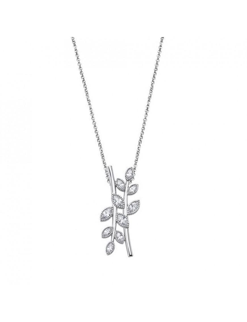 Collar Lotus Silver Mujer LP1783-1/1