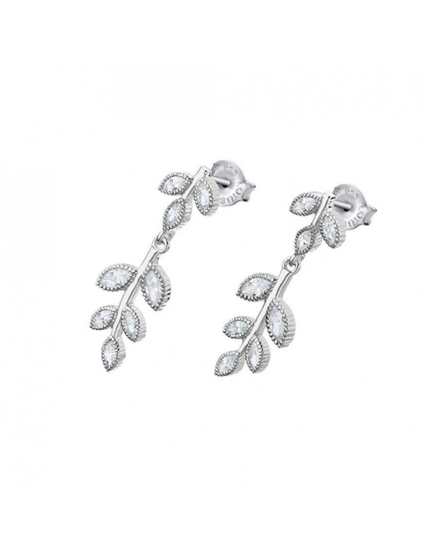 Pendientes Lotus Silver Mujer Plata LP1783-4/1