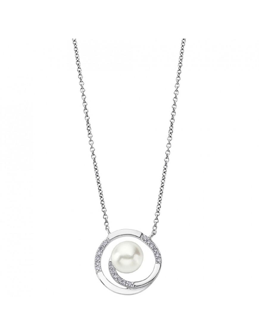 Collar Lotus Silver Mujer LP1792-1/1