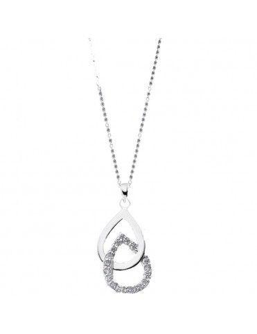 Collar Lotus Silver Mujer LP1835-1/1