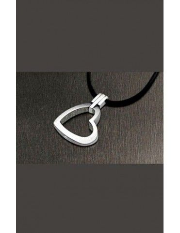 COLLAR LOTUS STYLE ACERO MUJER  LS1110-1/6