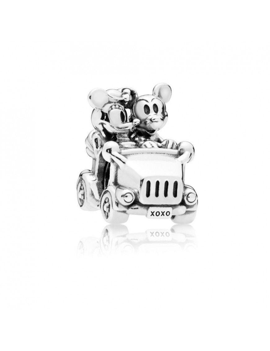 Charm Pandora Plata Coche Vintage Minnie & Mickey 797174