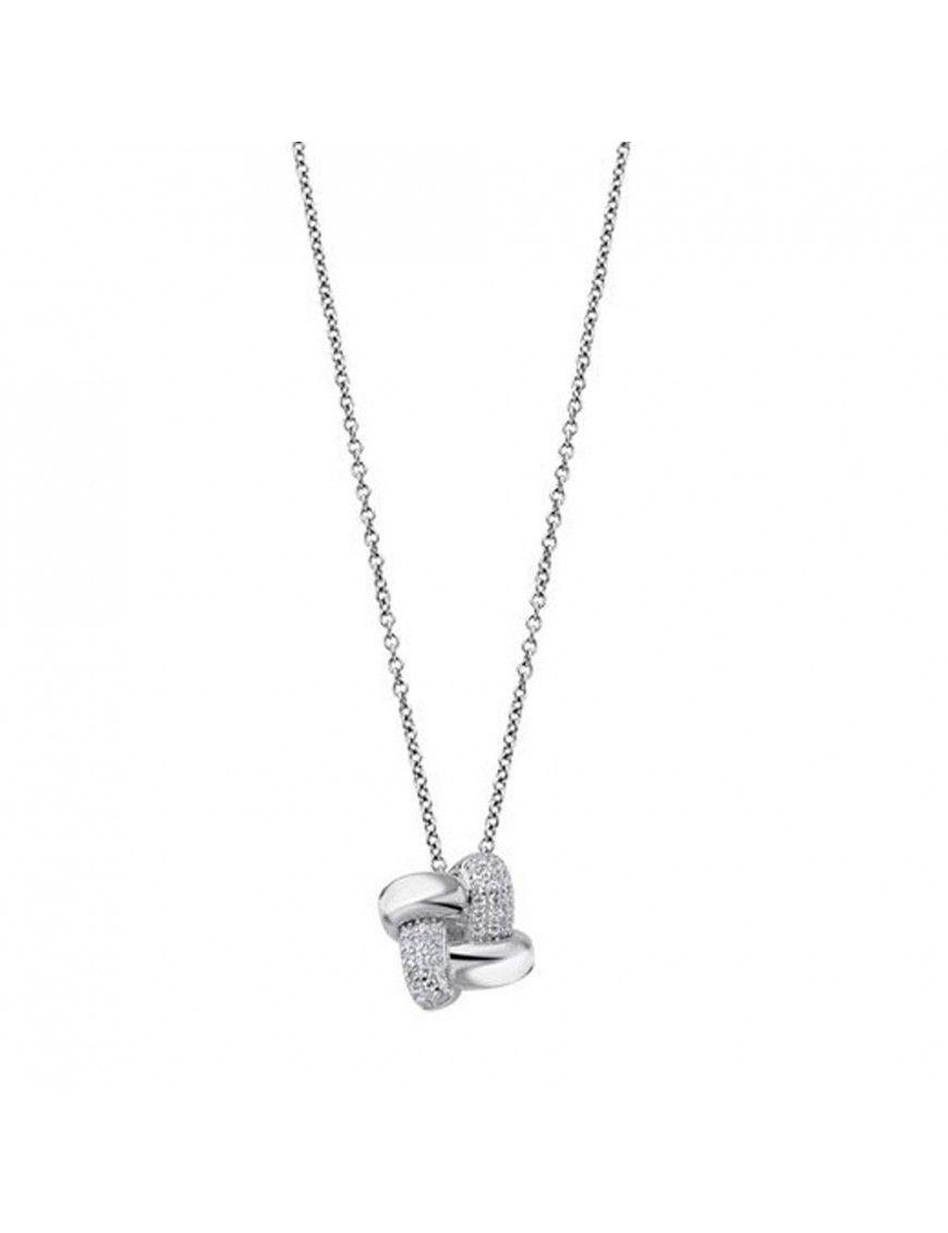 Collar Lotus Silver Mujer LP1790-1/1
