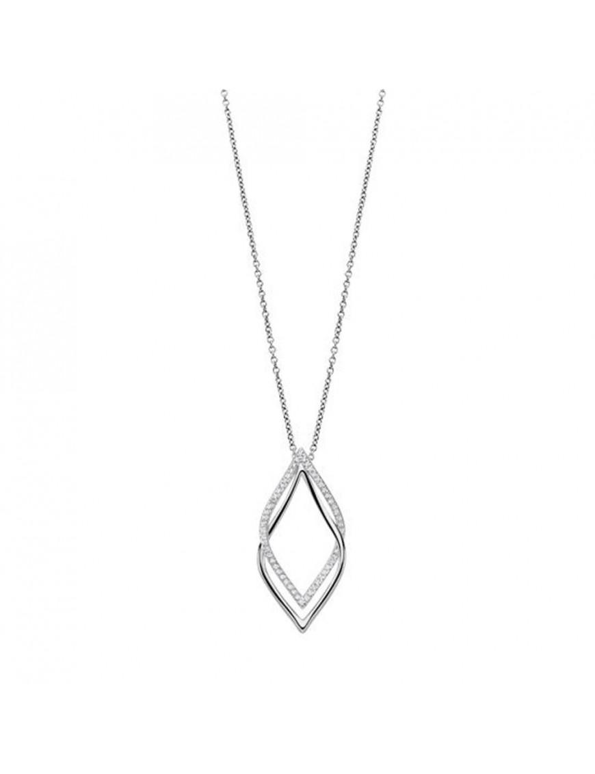 Collar Lotus Silver Mujer LP1791-1/1