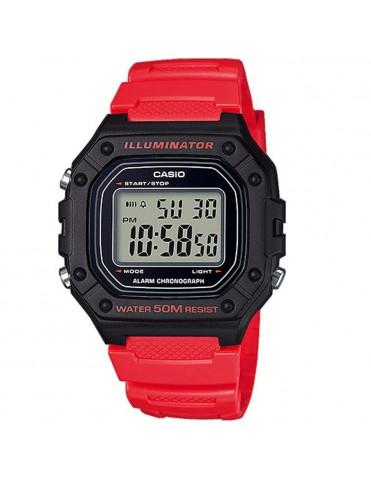 Reloj Casio Unisex Cronógrafo W-218H-4BVEF