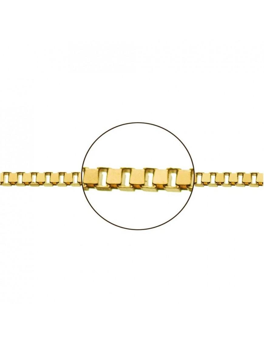 Cadena Oro Amarillo Veneciana 40 cm 033113054&40