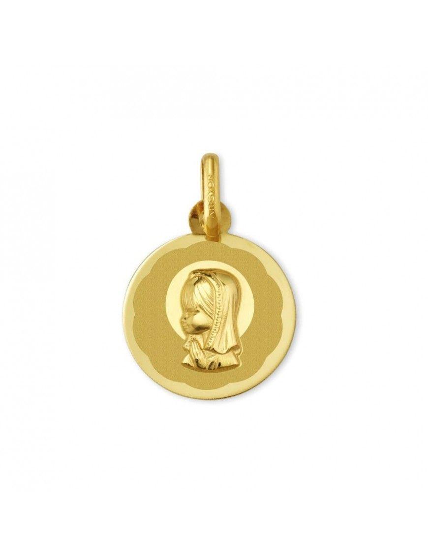 Medalla Oro 18K María 1910104/06