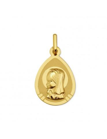 Medalla Oro 18K María 1911104/06