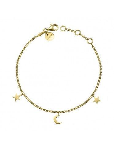 Pulsera Oro Amarillo Estrella Luna 4A8307300
