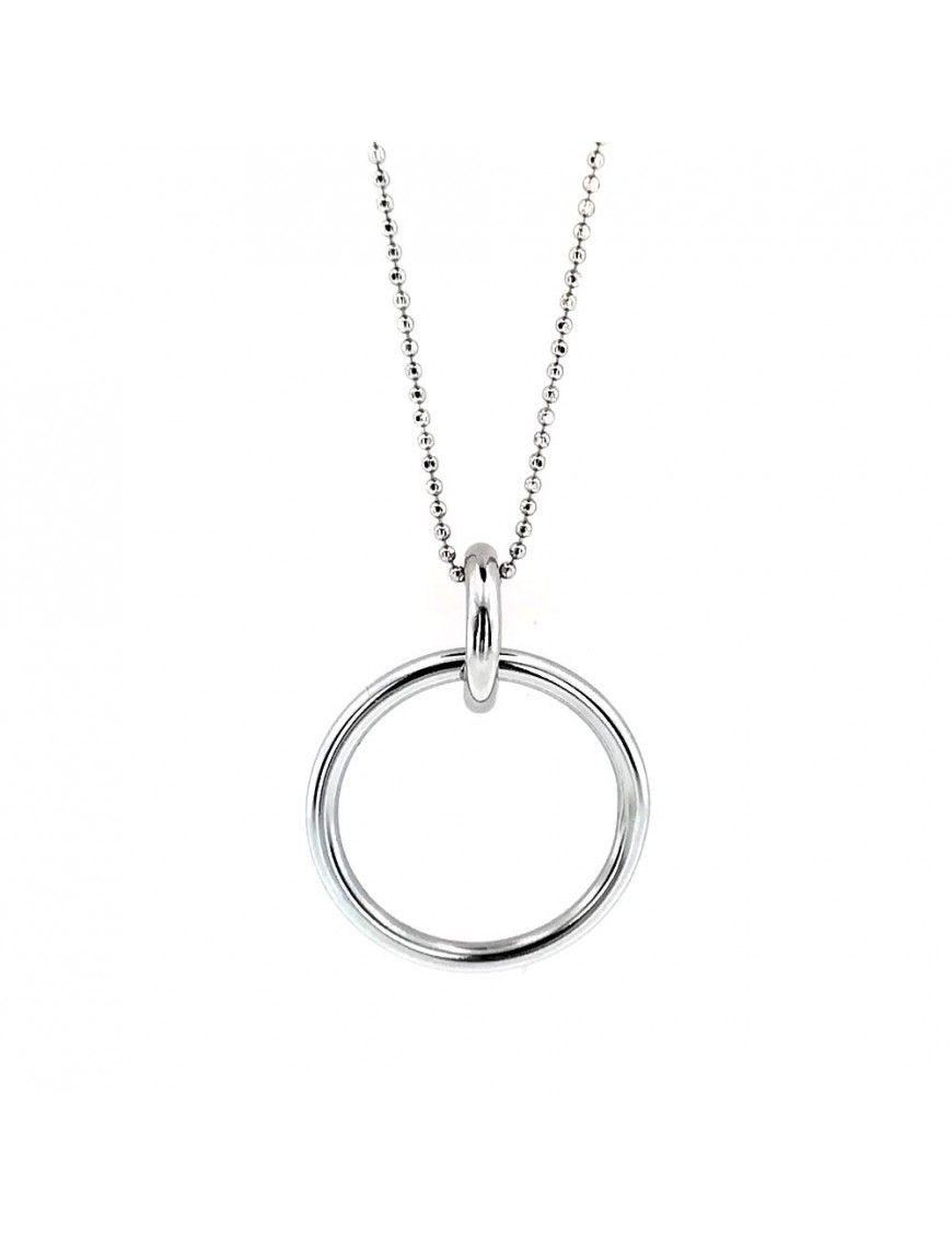 Collar Plata cadena 40 cm. mujer 025125-1-1